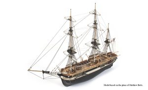 Occre HMS Terror 1:75 Scale Model Ship Kit - Basic without Sails