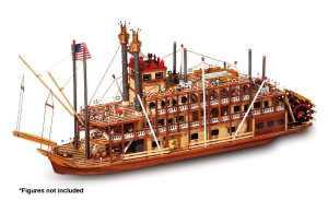 Occre Mississippi Paddle Steamer 1:80 Scale Model Boat Kit