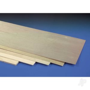 Birch Plywood 600mm Lengths from Cornwall Model Boats