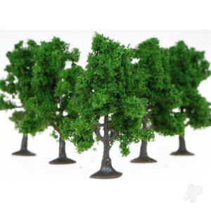 Heki 1965 5 Fruit Trees 7cm (Dark Green)