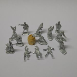 7162 Period Crew Figures (13 Pcs) 1:75 Scale