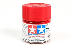 Tamiya X-7 Red Gloss Mini Acrylic 10ml