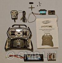Radio Control 2.4ghz Package Set inc Servo, Batteries, Charger & ESC