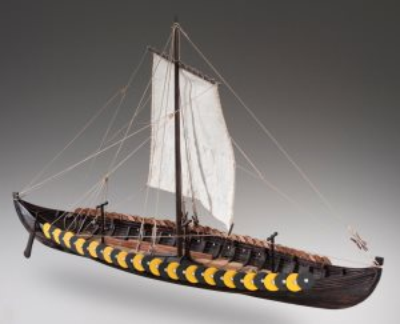 Mantua Models Viking Ship 1:40 Scale Wooden Model Boat Kit 780 | Cornwall Model Boats