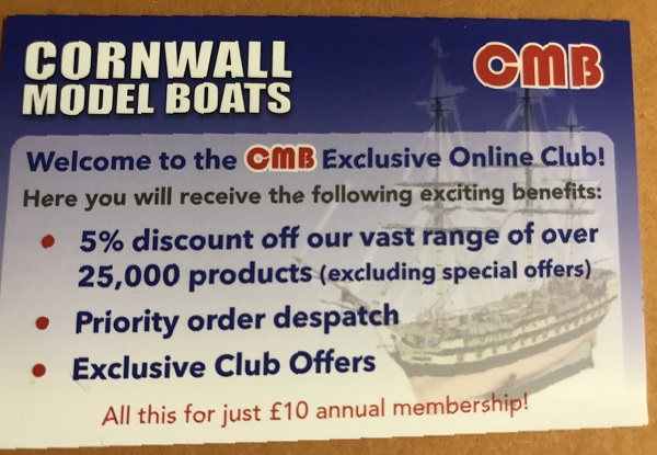 Cornwall Model Boats - Static display and radio control