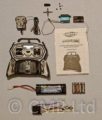 Marine Radio Control 2.4ghz Package Set inc Servo, Batteries, Charger & 15A ESC