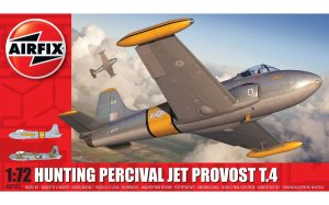 Airfix Hunting Percival Jet Provost T.4 1:72