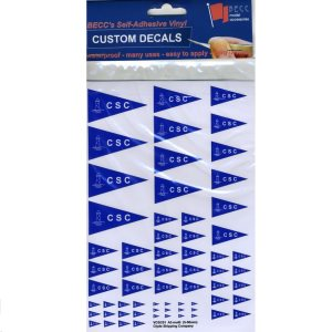 BECC Model Boat Decals Clyde Shipping Company Logo Decal