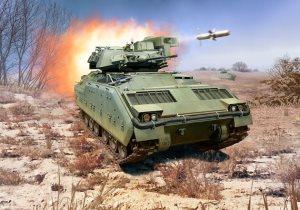 Revell M2 M3 Bradley 1 72 Scale Model Kit Rv03143