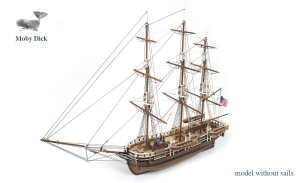 Occre Essex Whaling Ship - Basic Without Sails 1:60 Scale Model Ship Kit
