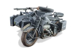 Italeri Zundapp KS 750 with Sidecar
