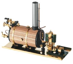 how to make a steam engine model at home