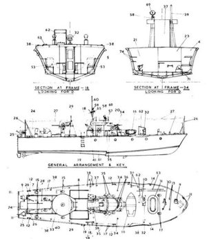 John Lambert Vosper Design plans from Cornwall Model Boats