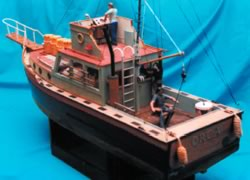 Orca - From the film Jaws (Model Boat Plan) MAR2463 | Cornwall Model Boats