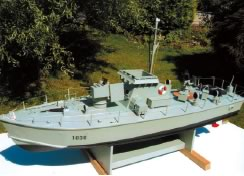 Gay Class Fast Patrol Boat (Model Boat Plan) MAR2554 | Cornwall Model Boats