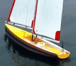 IOM International One Metre Class Yacht plans from Cornwall Model Boats
