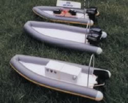 Rigid Inflatable Boat (Model Boat Plan) MAR2830 | Cornwall Model Boats