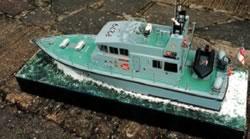 HMS Blazer (Model Boat Plan) MAR2970 | Cornwall Model Boats